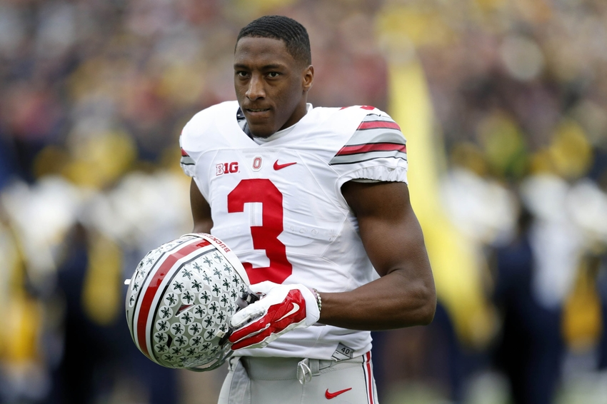 thomas michael ohio state nfl wr john ross draft wide michigan falcons profile cleveland receiver usa atlanta round mi against
