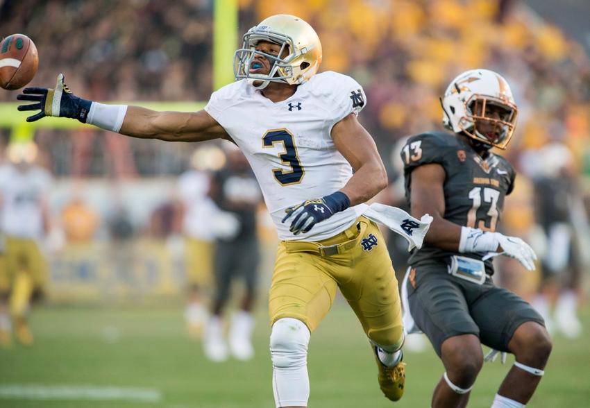 Amir Carlisle, WR Notre Dame: 2016 NFL Draft Scouting Report