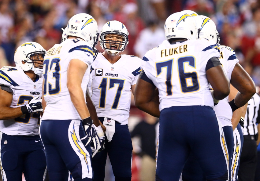 Philip Rivers Nfl San Diego Chargers Arizona Cardinals Teams Offenses Ranked