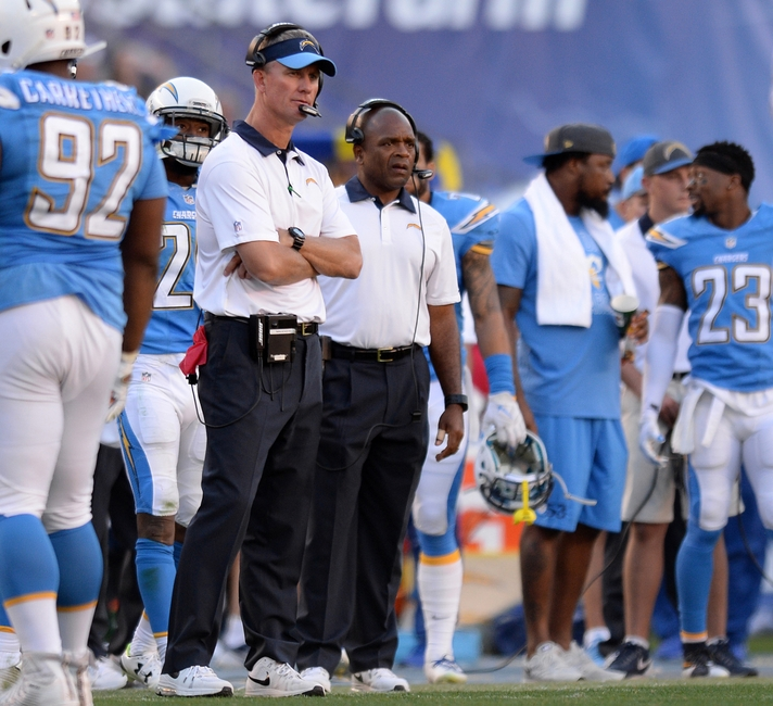 San Diego Chargers Head Coaches: 2015 NFL Power Rankings: Chasing The Undefeateds