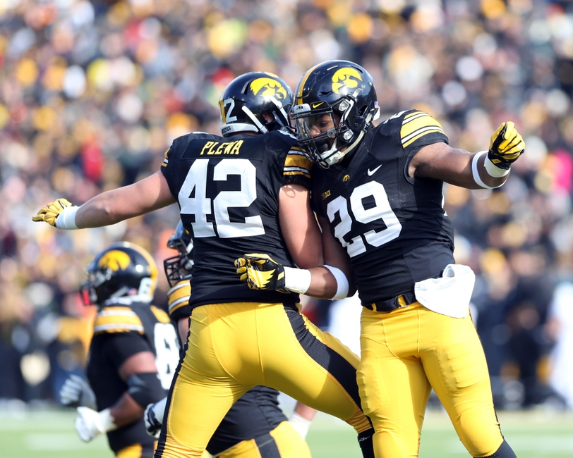Iowa Hawkeyes The Enjoyed One Of Their Best Seasons In Recent Memory Running Football 2017 And They Return A Combined 23 Tds