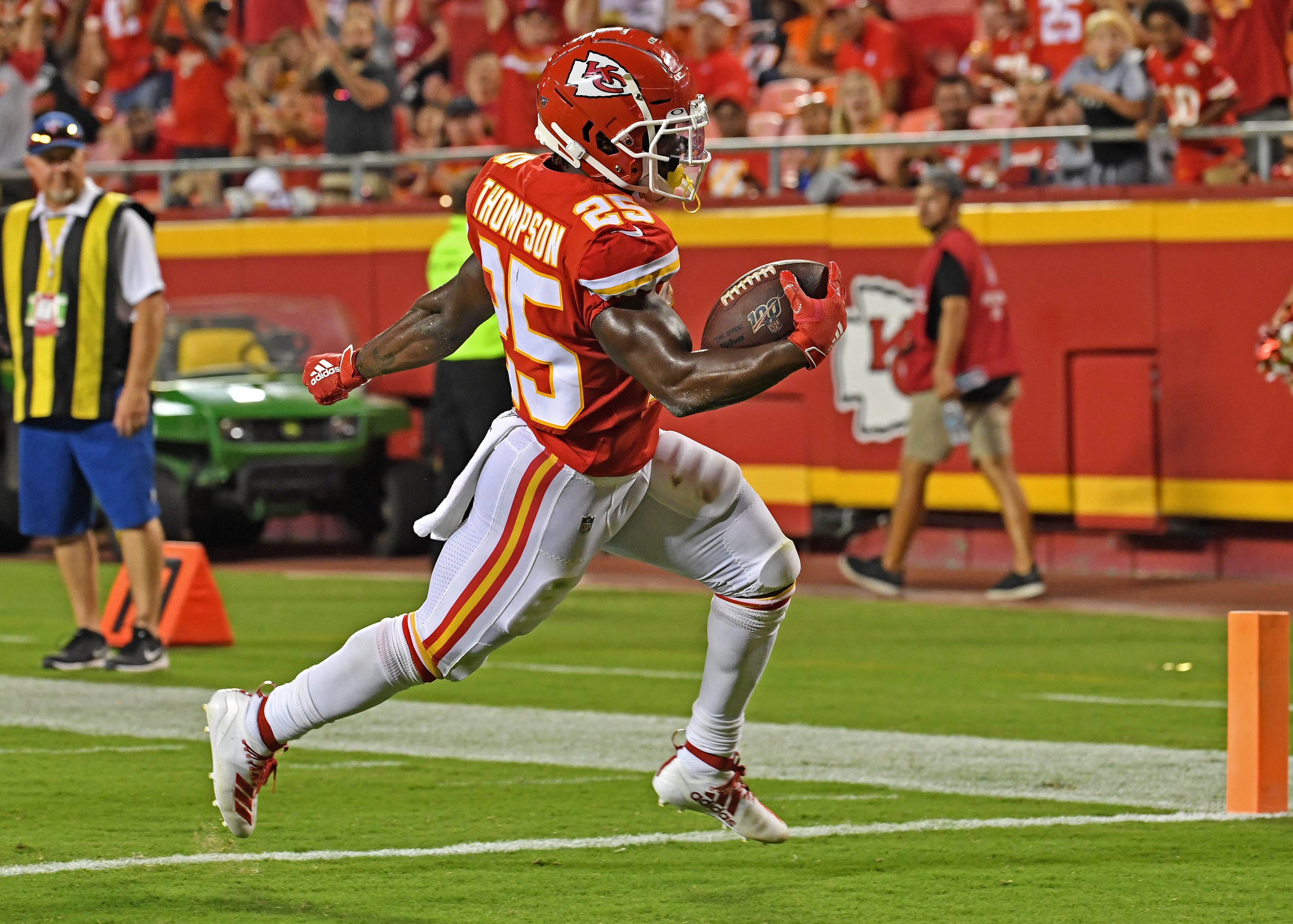 Kansas City Chiefs: Darwin Thompson fantasy football league ...