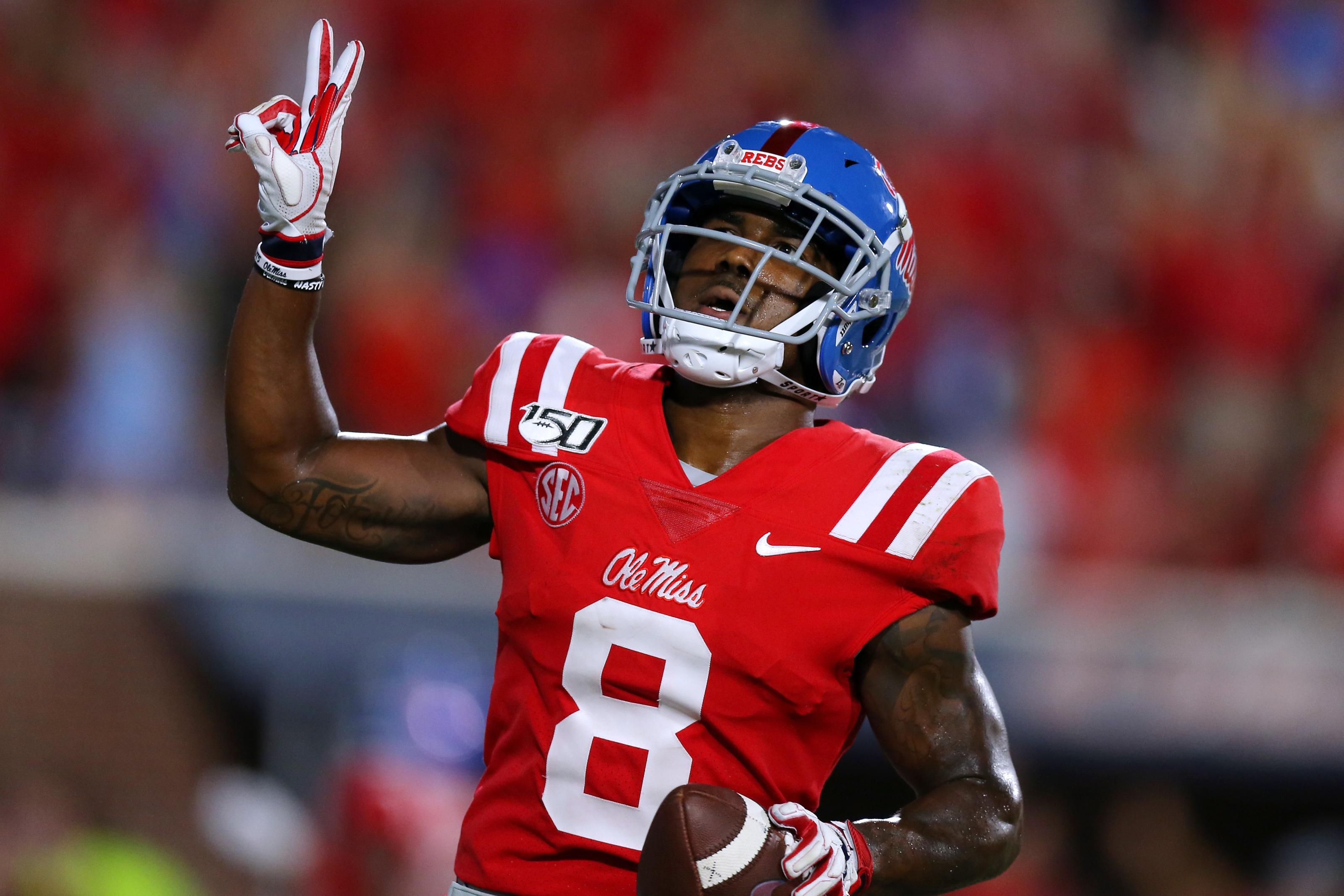 Ole Miss WR Elijah Moore explodes onto 2021 NFL Draft radar