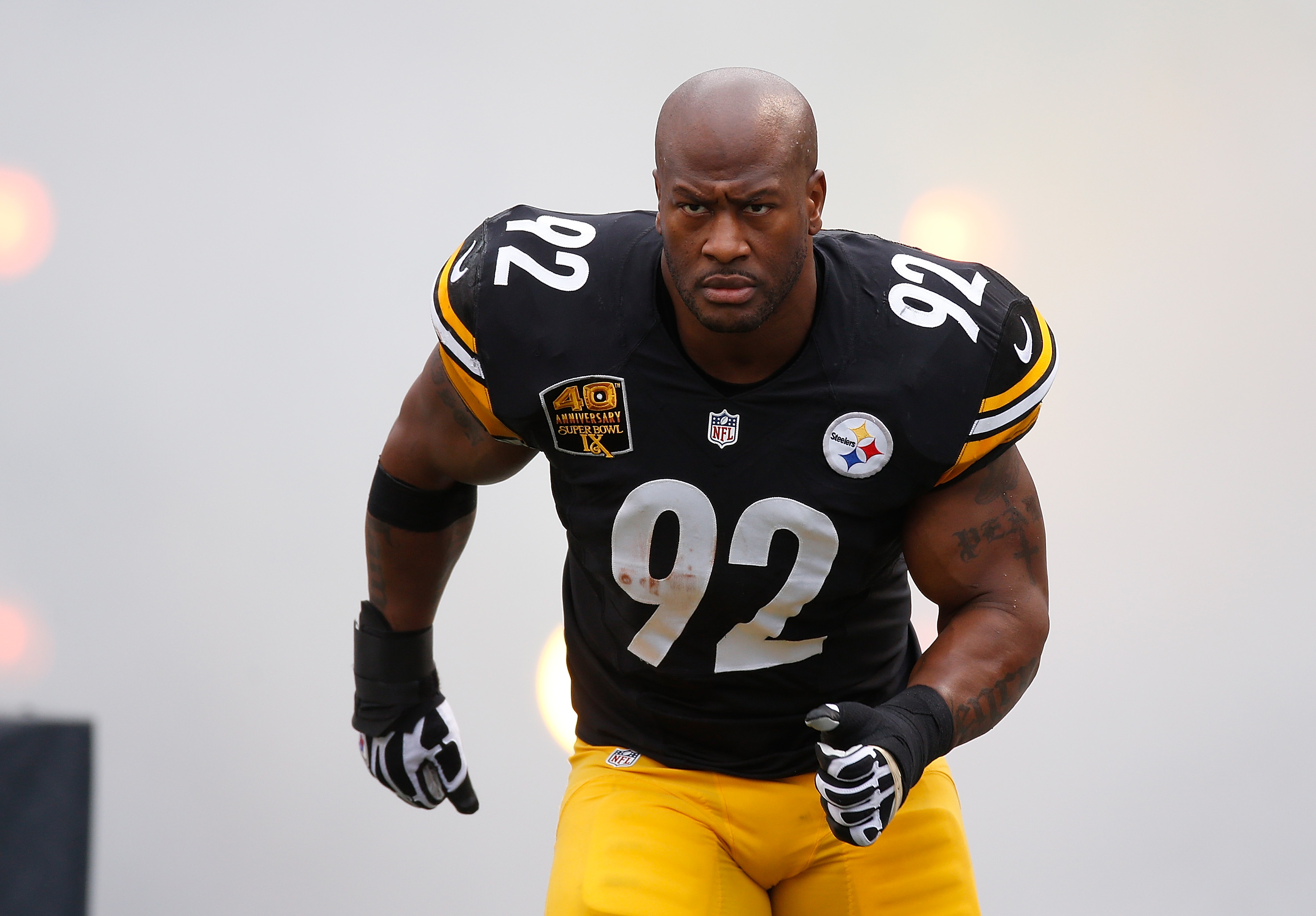 Steelers release LB James Harrison
