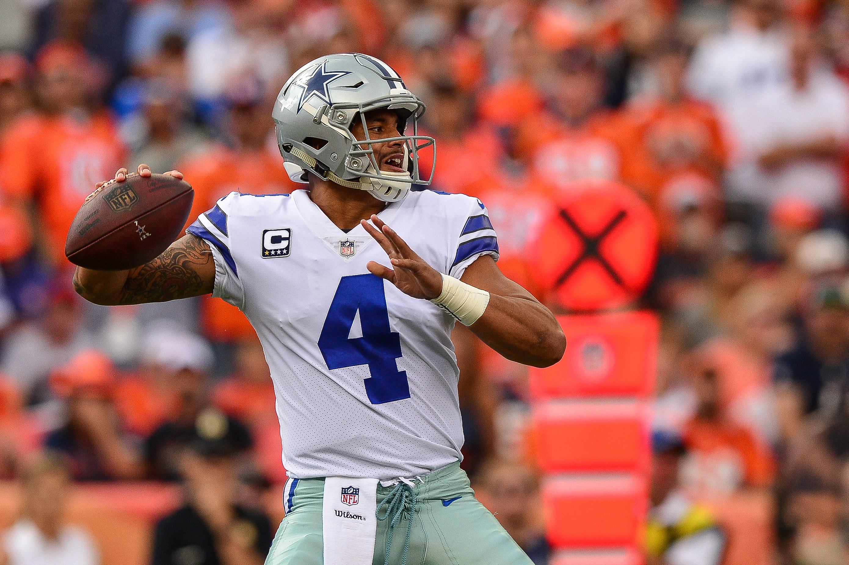 Dak Prescott, Dallas Cowboys get back on track with win