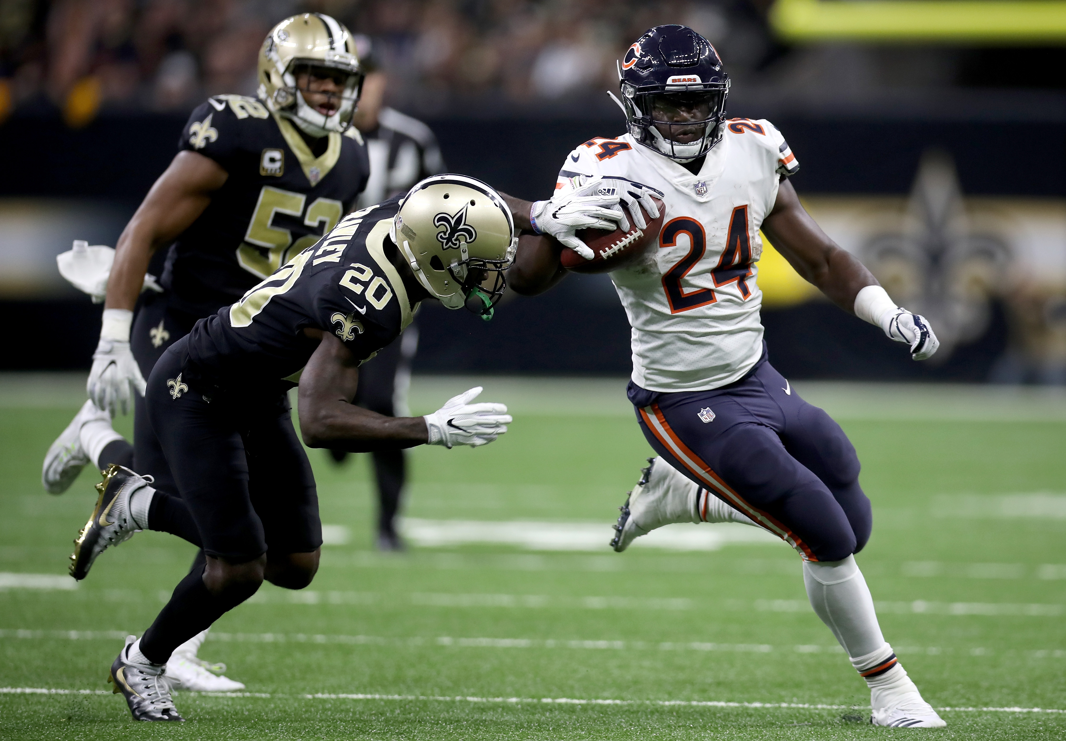 NEW ORLEANS LA – OCTOBER 29 Jordan Howard