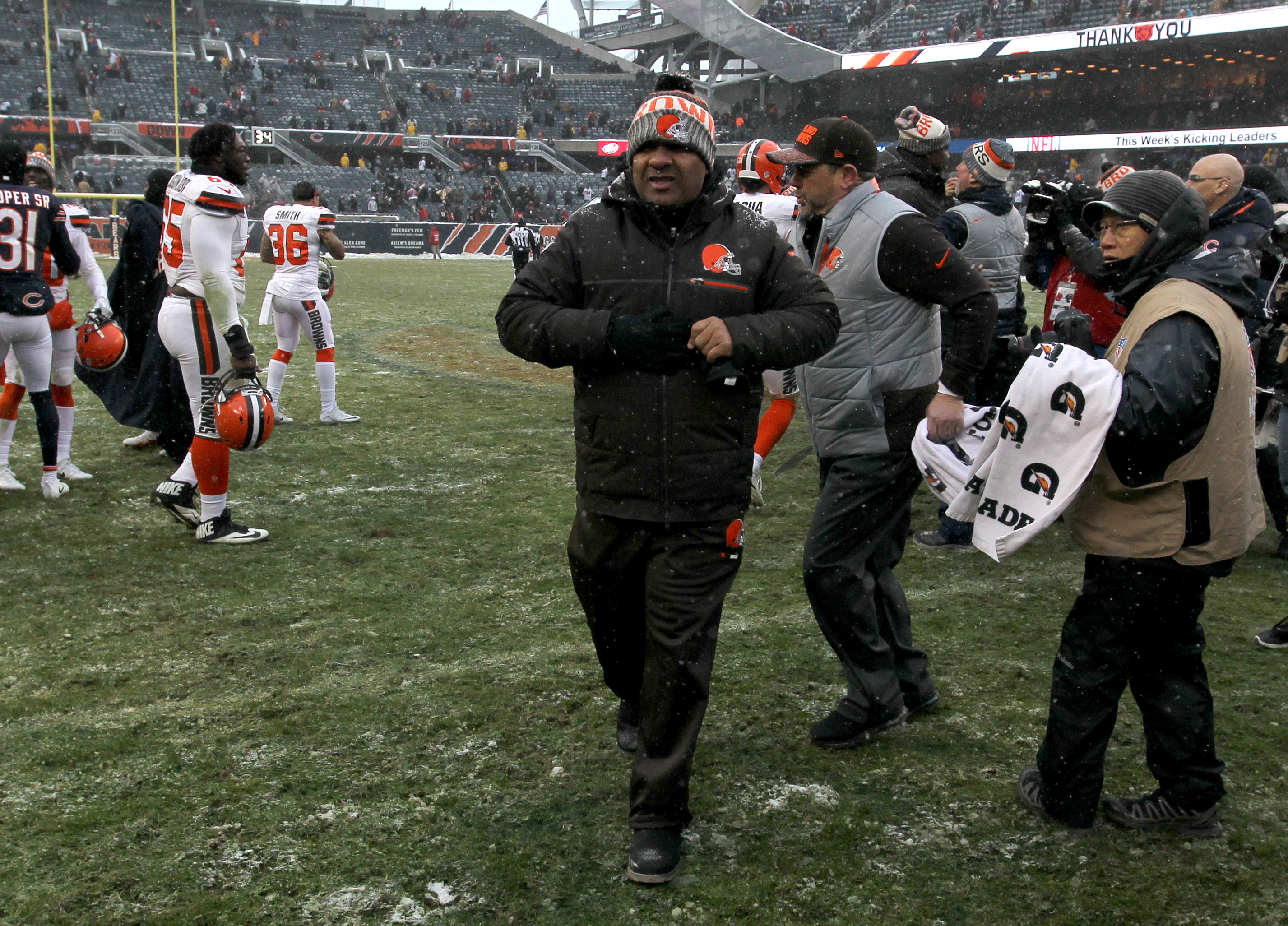 Browns end perfectly bad  season -- 0-16