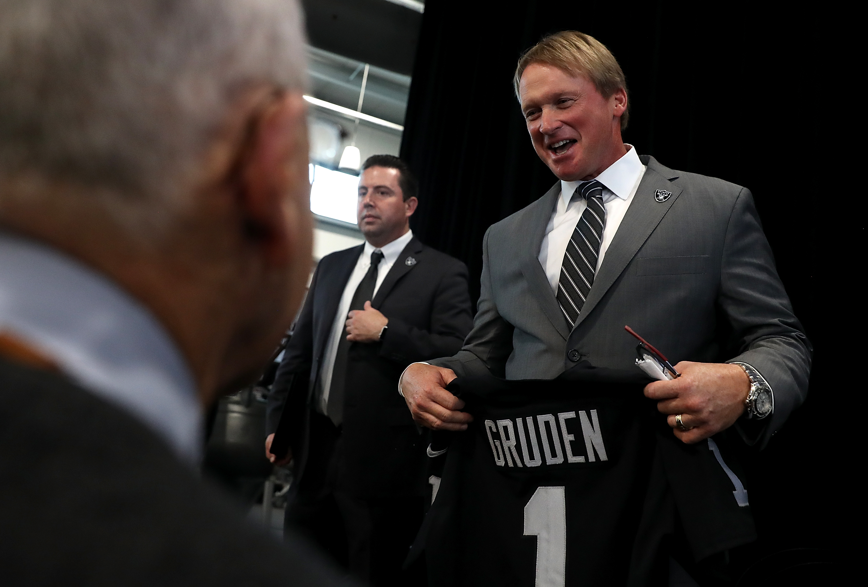 Tim Brown on Jon Gruden: 'Can you imagine Chucky in Las Vegas?'