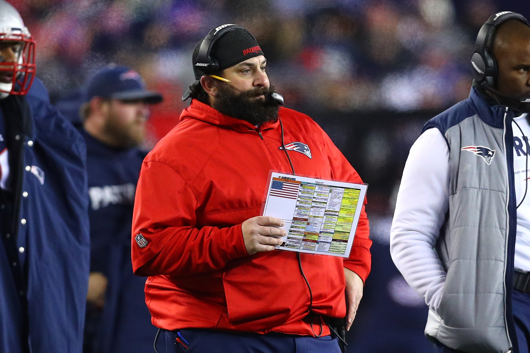 Patriots Defensive Coordinator Matt Patricia 'Likely' To Be Named Lions Next Coach