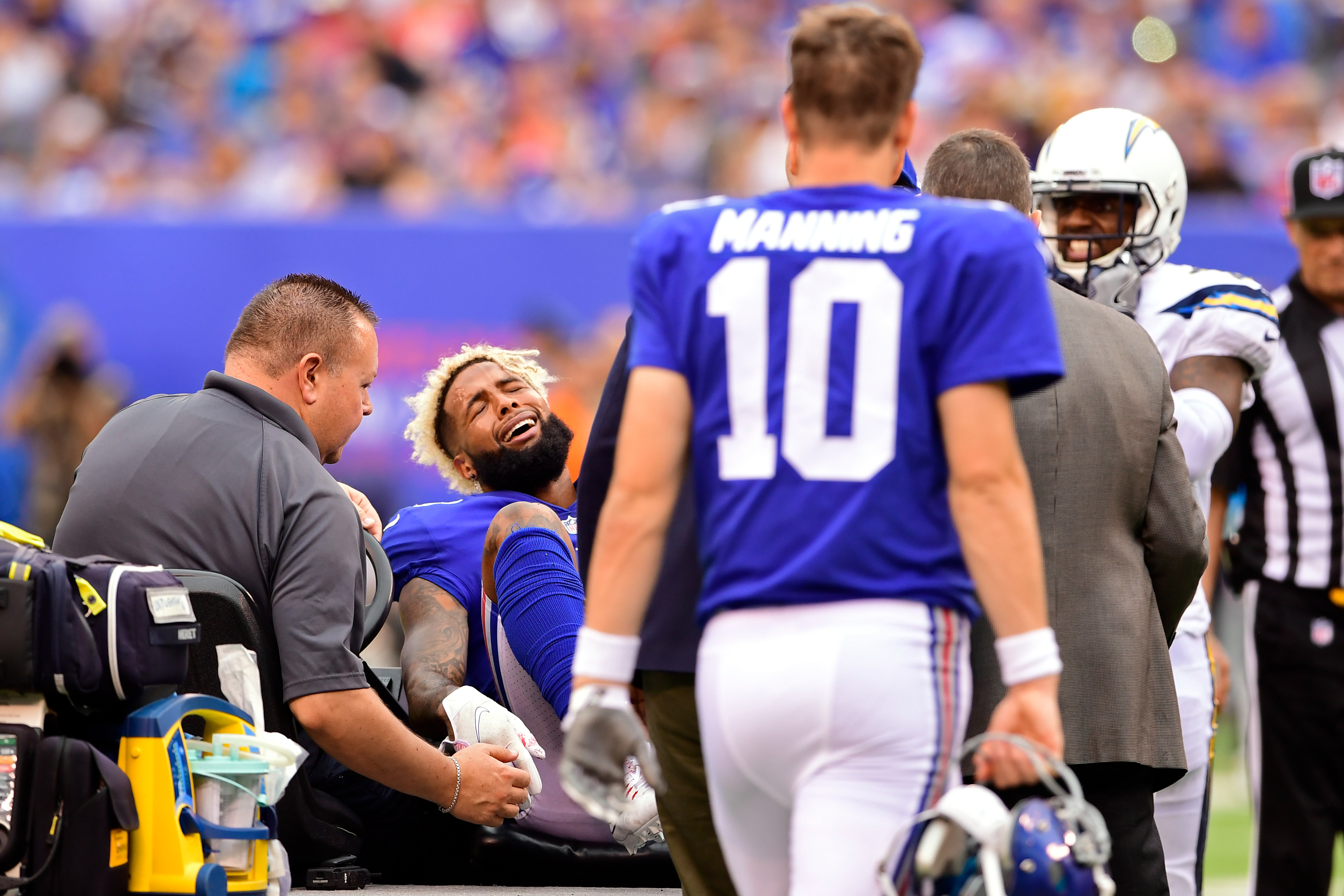 Odell Beckham Jr. threatening to hold out