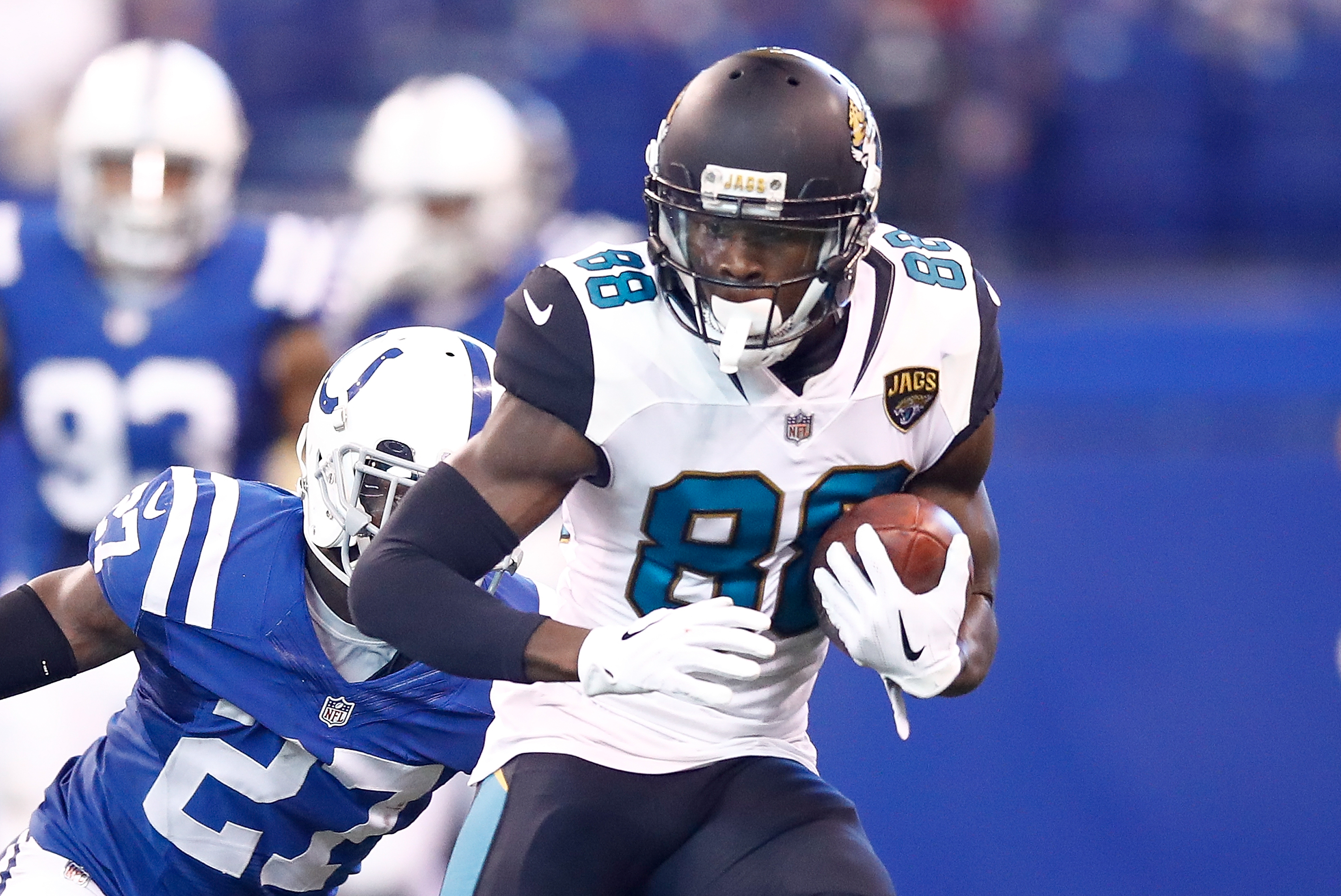 The Jacksonville Jaguars Release Veteran Tight End Marcedes Lewis