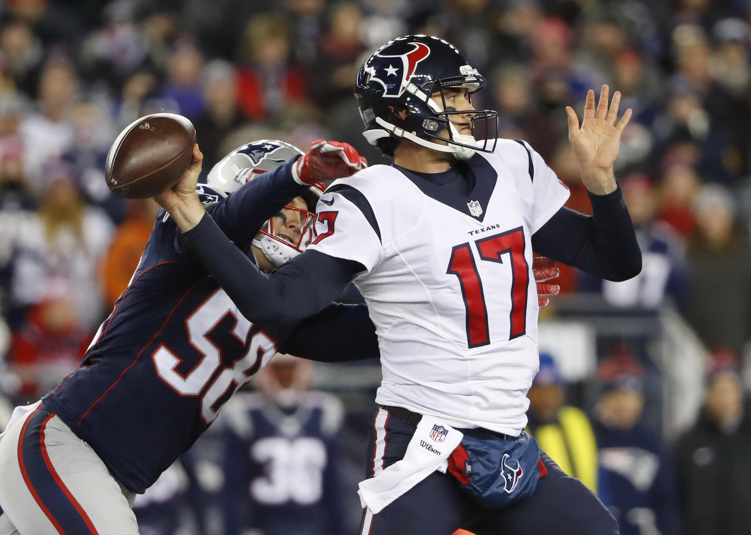 Houston Texans Receive Praise For Bold Osweiler Move